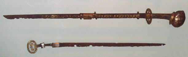 The original Japanese sword - Image is public domain