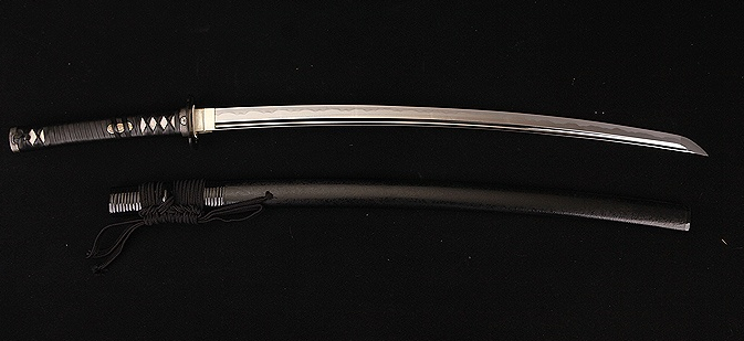 A modern day high quality reproduction of a Japanese Katana